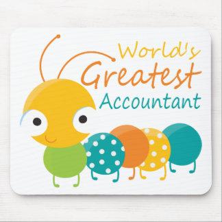 Le plus grand comptable du monde tapis de souris