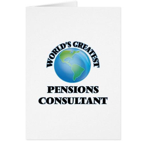 Le plus grand consultant en matière des pensions cartes de vœux