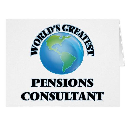 Le plus grand consultant en matière des pensions carte de vœux