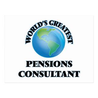 Le plus grand consultant en matière des pensions cartes postales