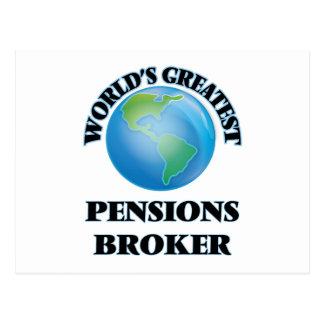 Le plus grand courtier des pensions du monde cartes postales