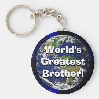 Le plus grand frère du monde ! Porte - clé Porte-clé Rond