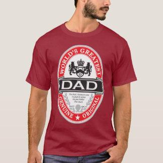 Le plus grand papa du monde t-shirt