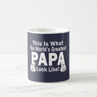 Le plus grand papa mug blanc