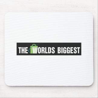 Le plus grand tapis de souris des mondes : Noir et