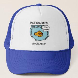 Le poisson n'est pas casquette végétarien