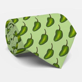Le poivre vert chaud de petit piment vert poivre cravate