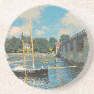 Le pont à Argenteuil - Claude Monet Dessous De Verres