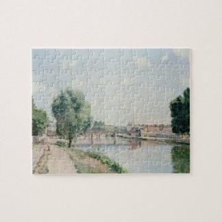 Le pont de chemin de fer, Pontoise Puzzle