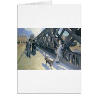 Le Pont de L'Europe par Gustave Caillebotte Carte