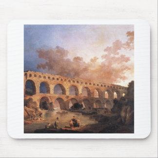 Le Pont du le Gard par Hubert Robert Tapis De Souris