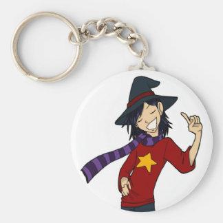 Le porte - clé de Dwayne de magicien Porte-clé Rond
