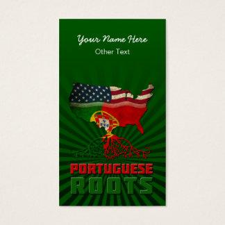 Le Portugais américain enracine des cartes de