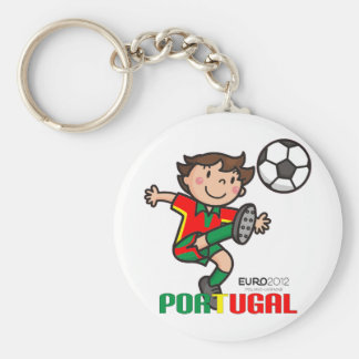 Le Portugal - euro 2012 Porte-clé Rond