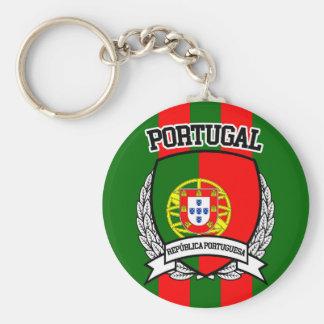 Le Portugal Porte-clé Rond