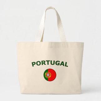 Le Portugal Sac En Toile Jumbo