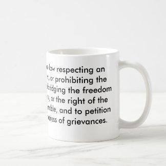 Le premier amendement mug