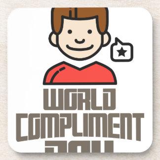 Le premier mars - jour de compliment du monde sous-bock