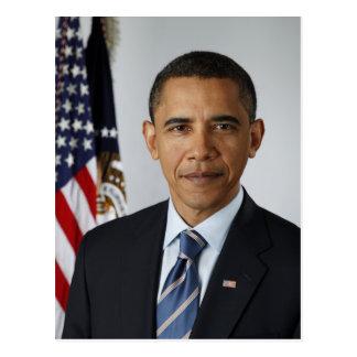 Le Président Barack Obama en 2009 Carte Postale