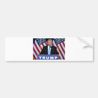 Le Président Donald Trump Autocollant De Voiture