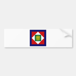 Le Président Flag de l'Italie Autocollants Pour Voiture