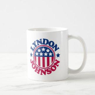 Le Président Lyndon Johnson des USA Mug