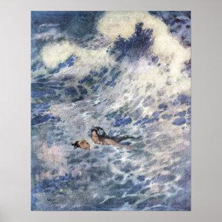 Le prince et la sirène par Edmund Dulac