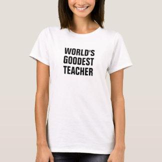 Le professeur goodest du monde t-shirt