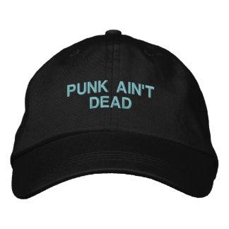 Le punk n'est pas mort : Casquette réglable (noir)