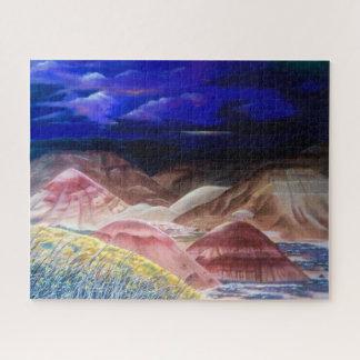 Le puzzle peint des collines 3