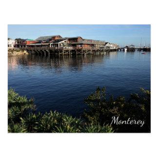 Le quai du pêcheur, carte postale de Monterey, la