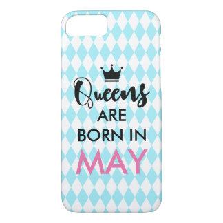 Le Queens sont né dedans - mois et couleur faits Coque iPhone 7
