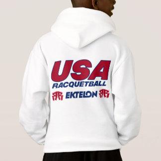 Le racquetball des Etats-Unis badine le sweat -