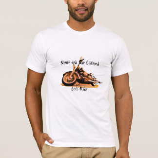 Le rai et elle ont écouté l'est 2011® de chemise t-shirt