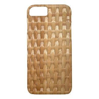 Le regard de la texture en osier de Basketweave de Coque iPhone 8/7