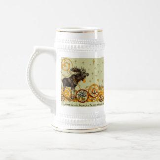 Le remous d'orignaux tient le premier rôle la joie chope à bière