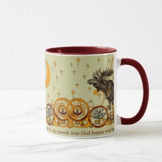 Le remous d'orignaux tient le premier rôle la joie mug