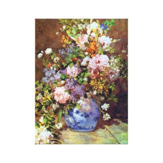 Le ressort fleurit des beaux-arts de Renoir Toiles