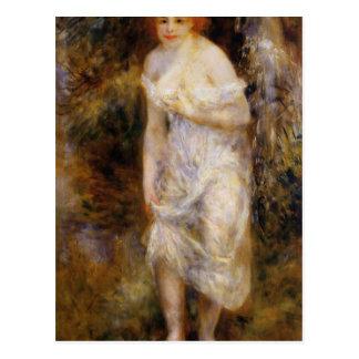 Le ressort par Pierre-Auguste Renoir Carte Postale