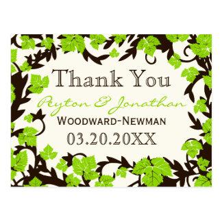 Le ressort vert de Brown part du Merci Cartes Postales
