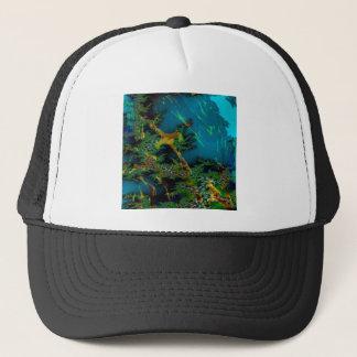Le résumé colore la forêt brumeuse casquette