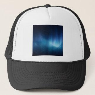 Le résumé colore le grand bleu blanc casquette