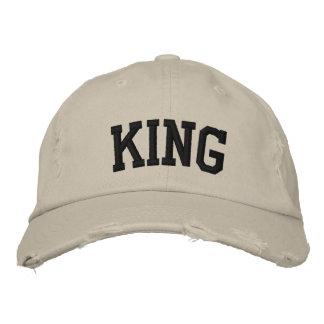 Le Roi Embroidered Hat Casquette De Baseball Brodée