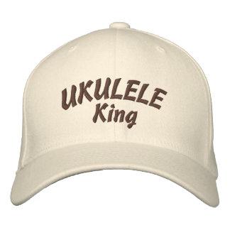 Le Roi Embroidered Hat d'ukulélé Casquettes Brodées