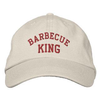 Le Roi Funny Embroidered Hat de barbecue Chapeau Brodé