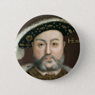Le Roi Henry VIII Badge Rond 5 Cm