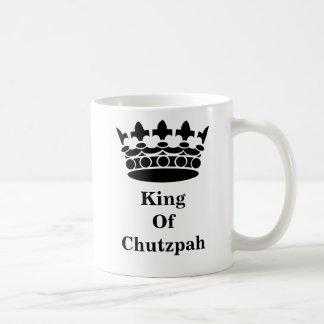 Le Roi Of Chutzpah Mug