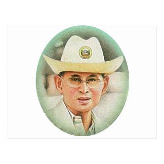 Le Roi thaïlandais Bhumibol Adulyadej - Cartes Postales