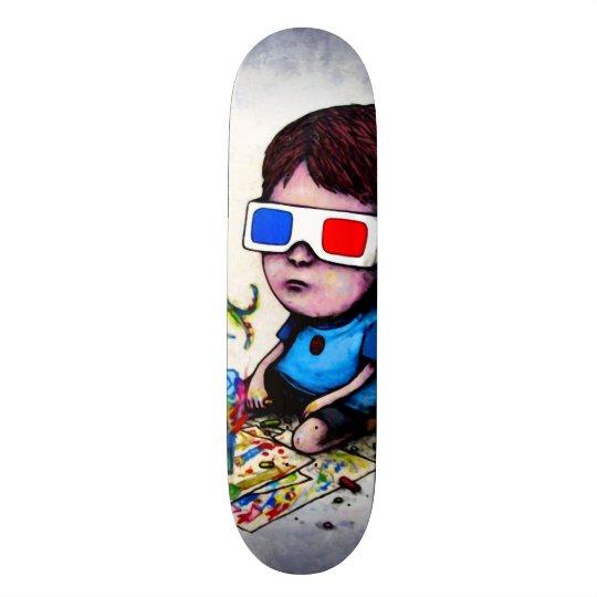 Le Roi Trippy Custom Pro Park Board de l'enfant 3D Planche À Roulette Customisée