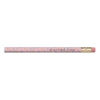 Le rose d'amusement a modelé 1 ligne crayon